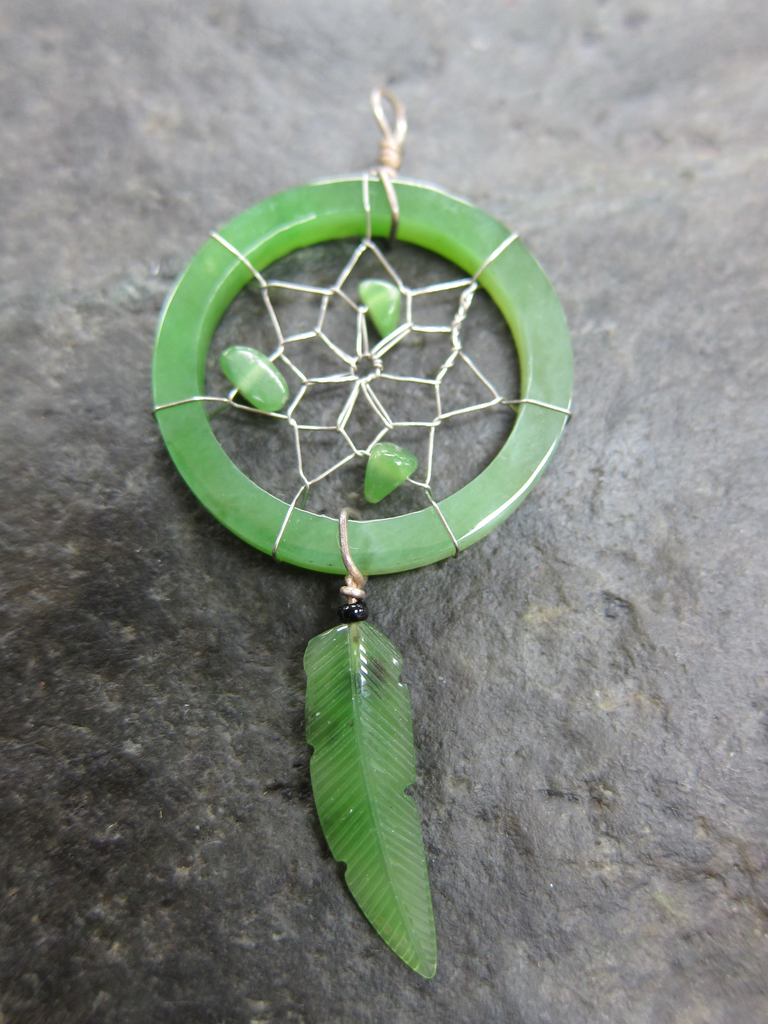 Jade Dream catcher