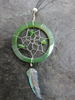 Jade and Paua dream catcher