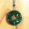 Jade Ribbon/Twist Design Pendant
