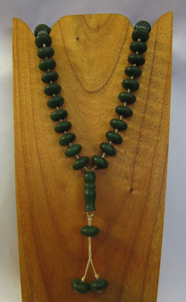 JADE PRAYER BEADS, 15MM