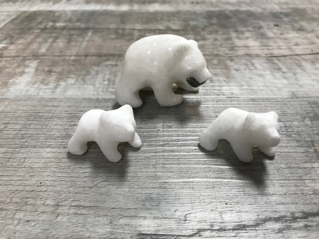 Star Marble Grizzly Bear Family