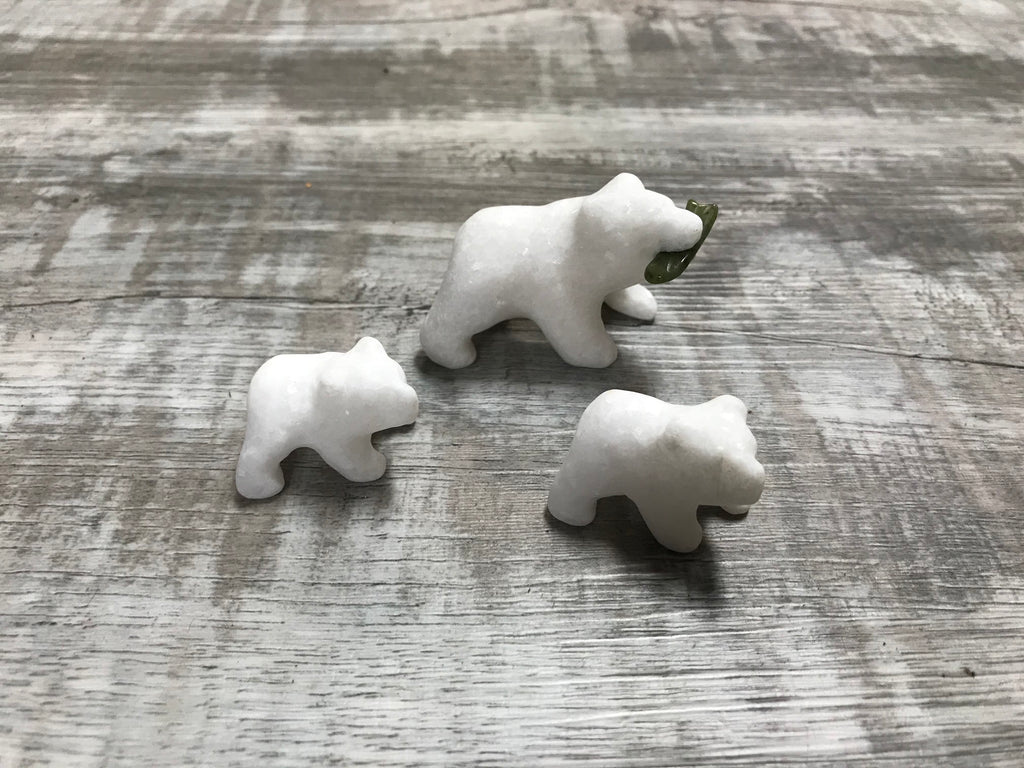 Star Marble Polar Bear Family