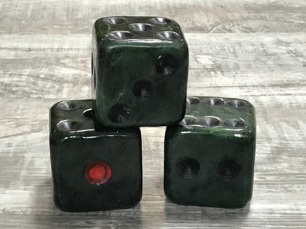 Jade Dice Paper Weight