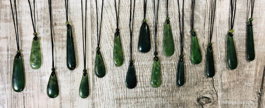 Assorted pendants, made in Jade City