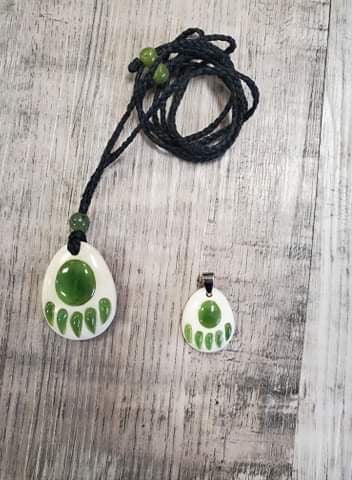 Jade and Bone Bear Paw