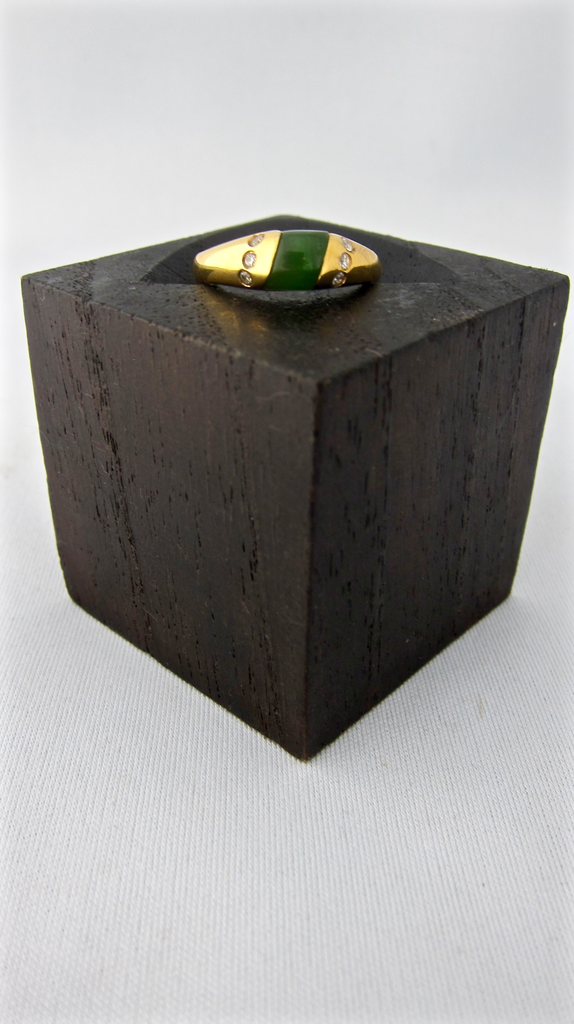 JADE RECTANGLE RING