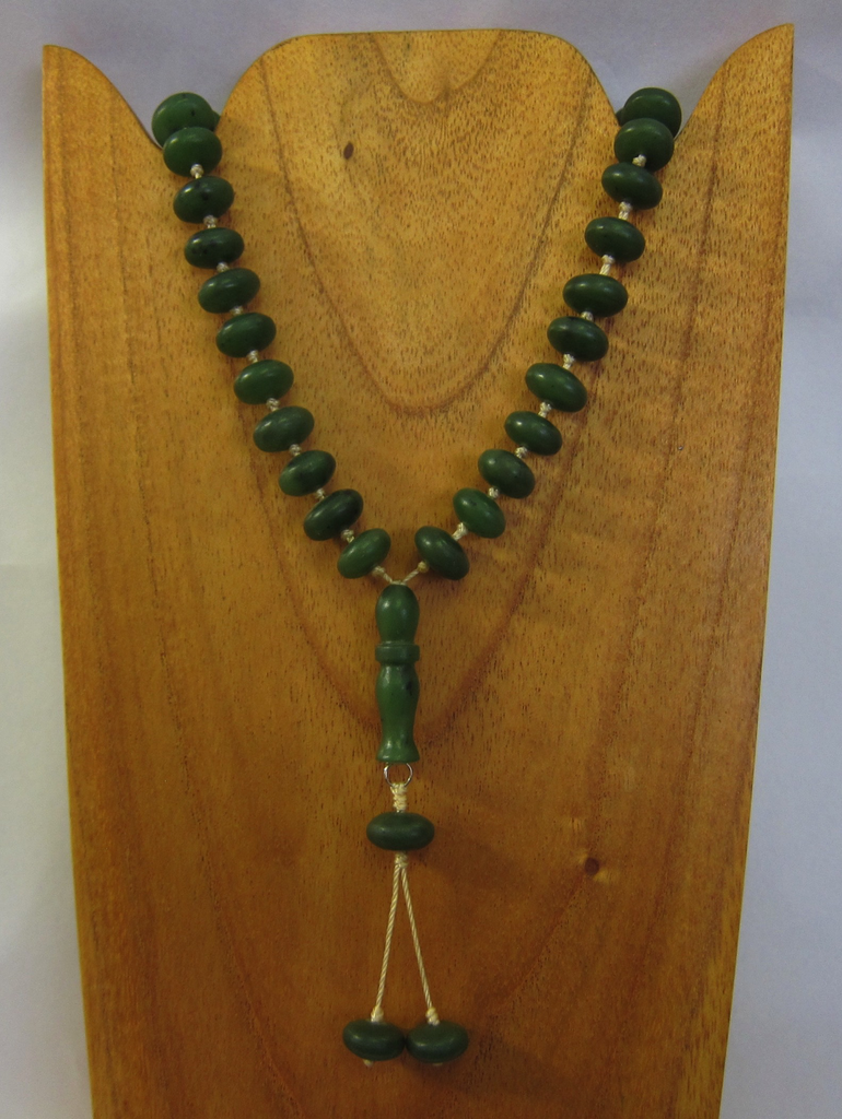 JADE PRAYER BEADS, 10MM