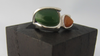 JADE IRREGULAR SHAPE RING