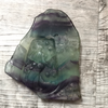 Fluorite Relief Carving