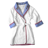blue little barn terrycloth robe