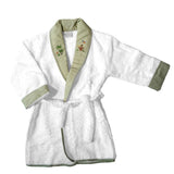 green on safari terrycloth robe
