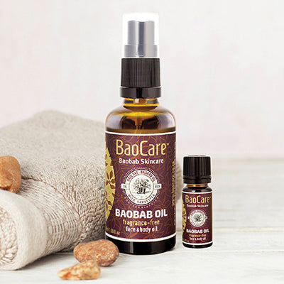 baobab skincare oil for face, body and hair