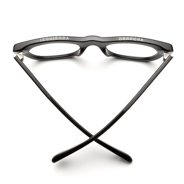 d28 readers by caddis eyewear - black gloss