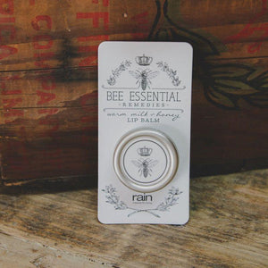 bee essential remedies lip balm milk and honey