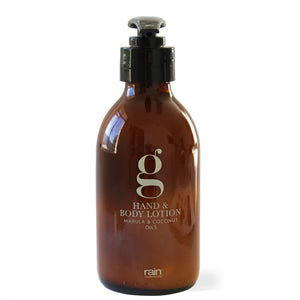 g-range: hand and body lotion
