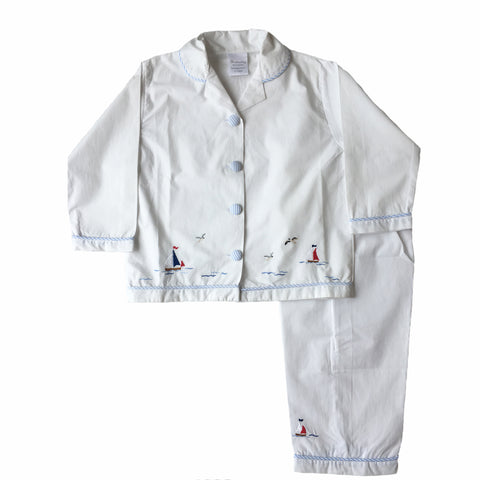 kids sleep set nautical