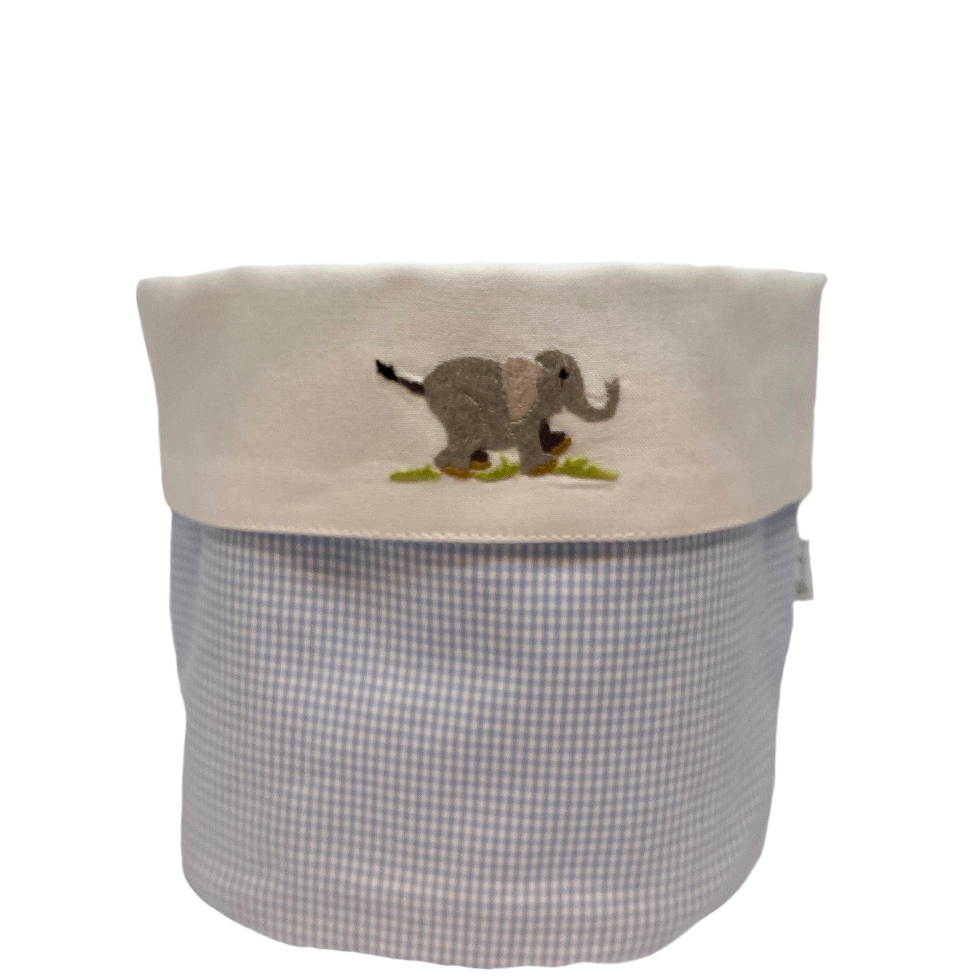baby vanity holders with on safari elephant