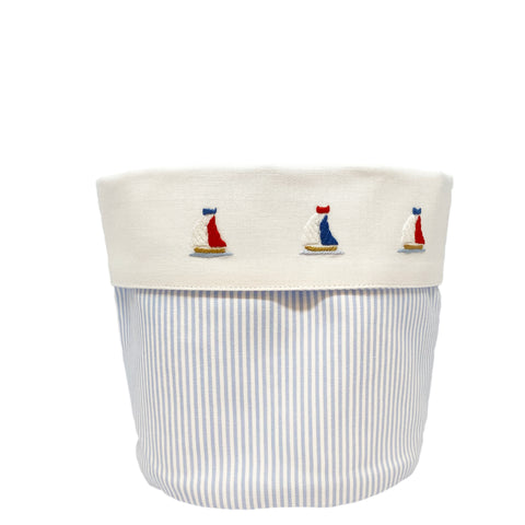 baby vanity holders with little sailboats