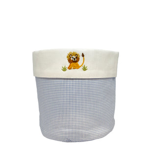 baby vanity holders with on safari lion
