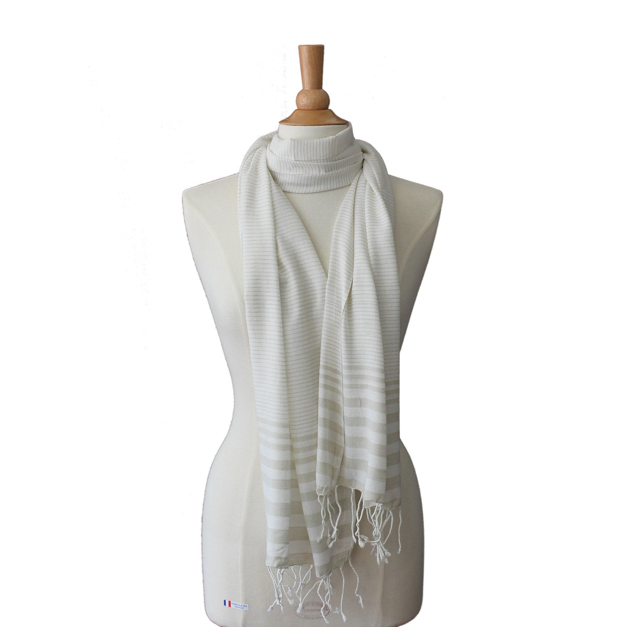lightweight cotton scarf