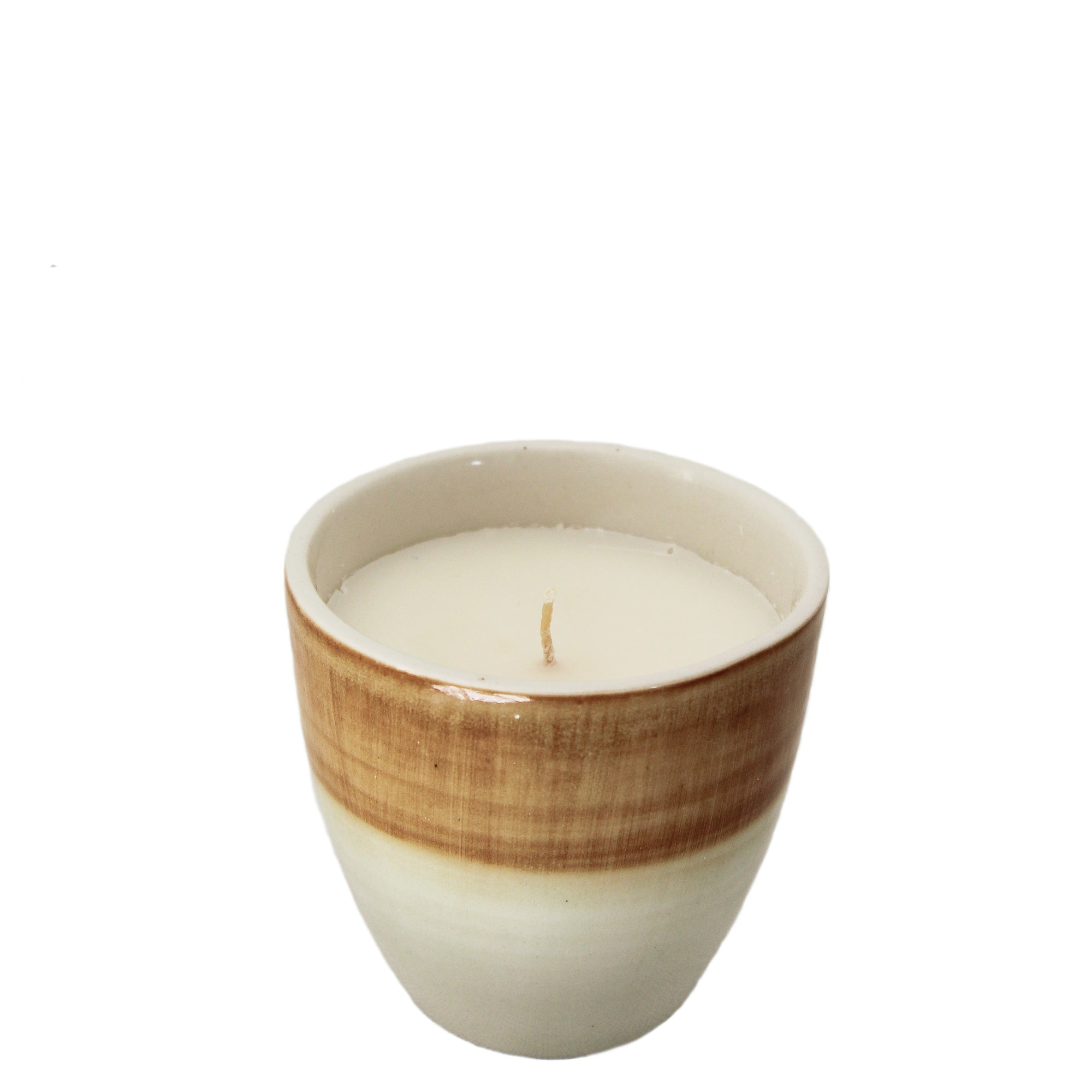 coconut and lime votive candle