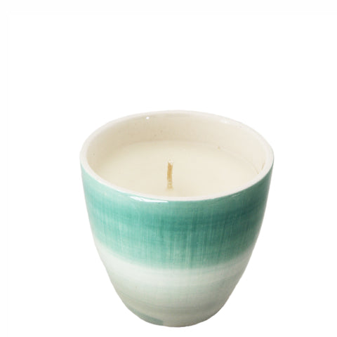clementine papaya votive candle