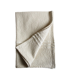 hand woven flat weave hand towel