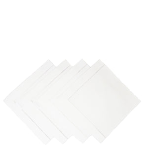 linen napkins - ladder stich