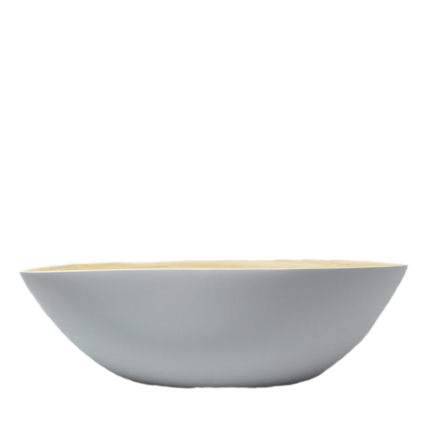 sustainable, eco-friendly and fair trade bamboo salad bowl