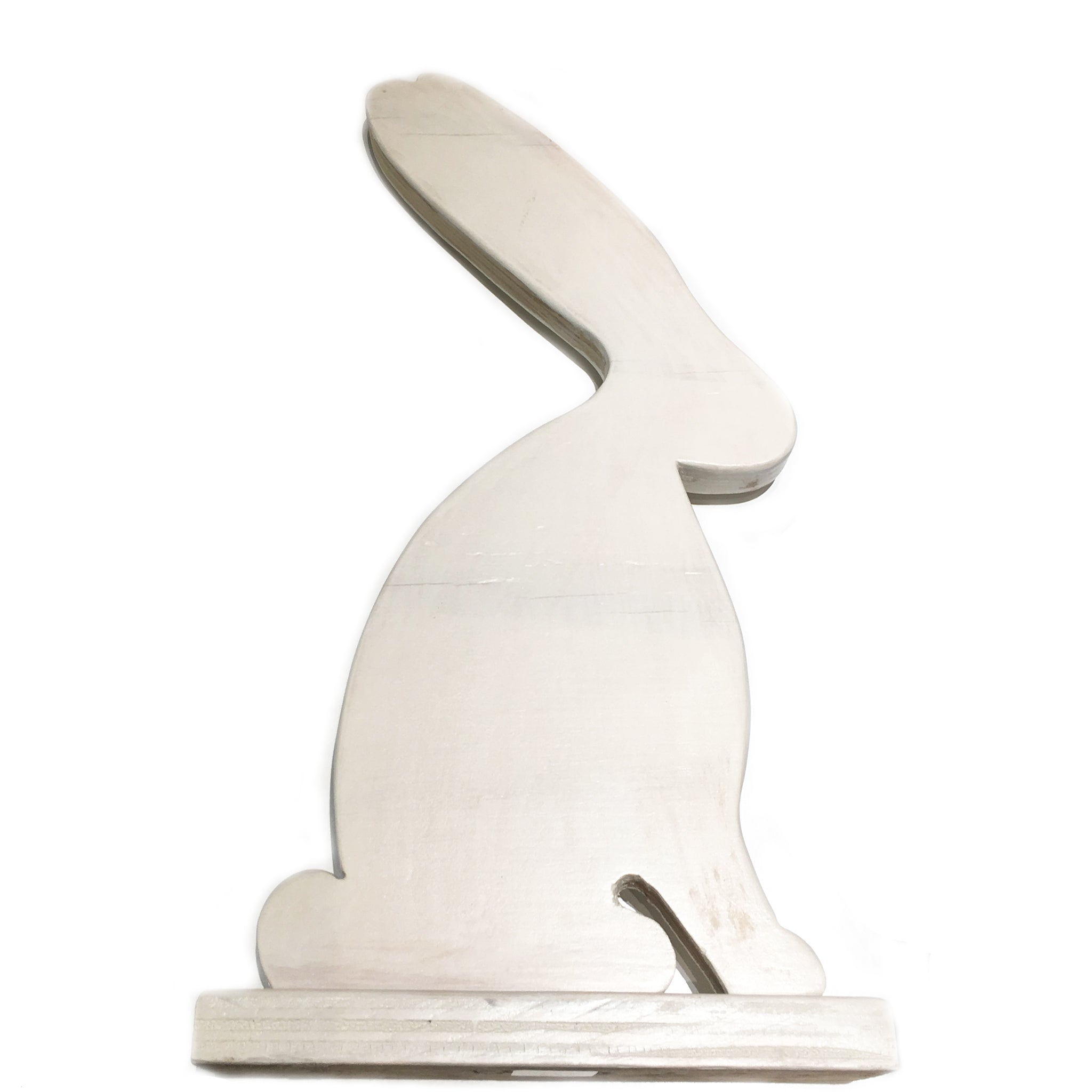 wooden bunny for home decor