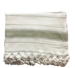bamboo and cotton body wrap - sage