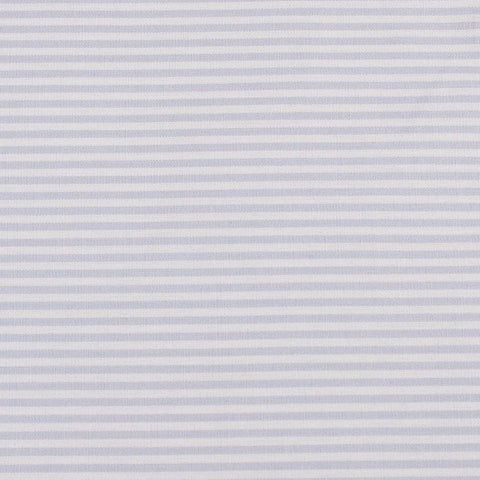 unembroidered fabric - blue stripe