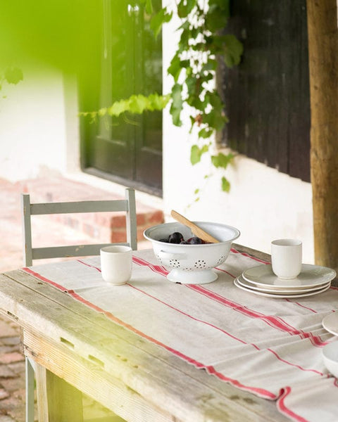 100% cotton table runner