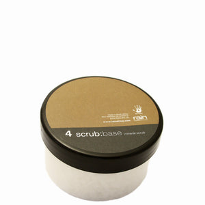 sea salt scrub base