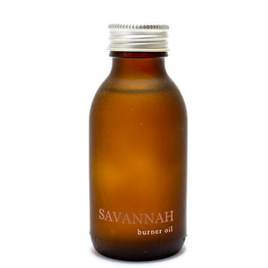 savannah burner oil