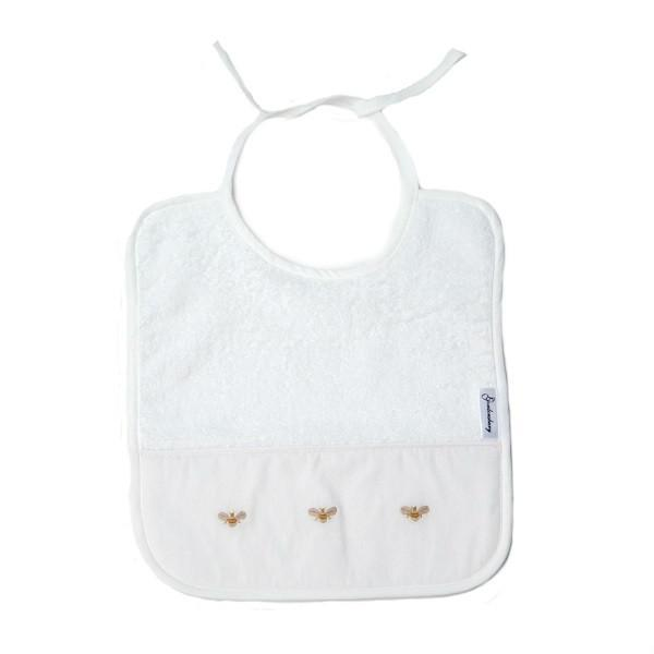 terry bib baby bees
