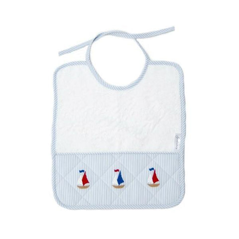 baby terry bib nautical
