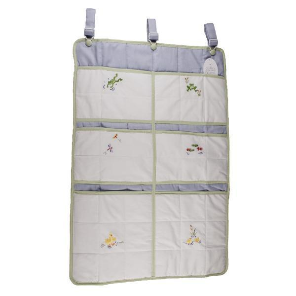 crib organizer froggy pond