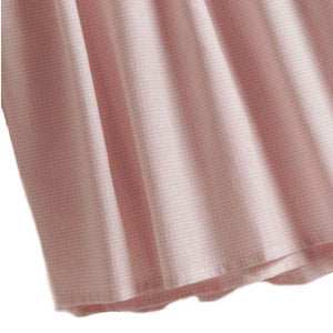 pink gingham crib dust ruffle