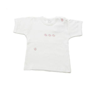 toddler t-shirt ladybird pink  6-12 mths