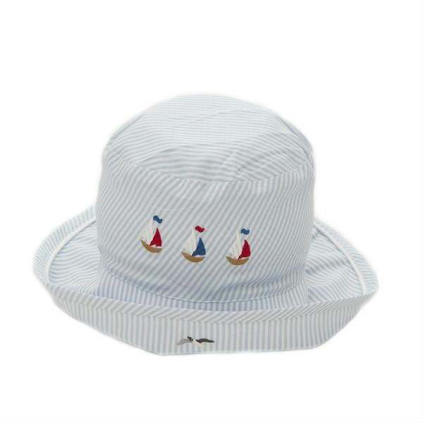 toddler sun hat nautical 12 - 18 mnths