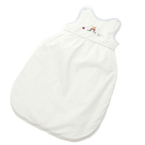blue nursery time sleepsack