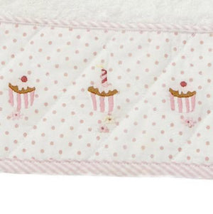 terry burp cloth bunny tea party