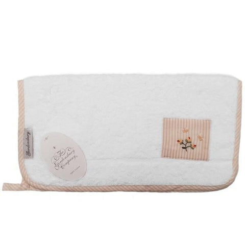 terry face cloth - rosebud