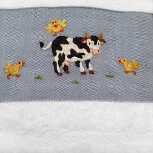 terry guest towel - little barn