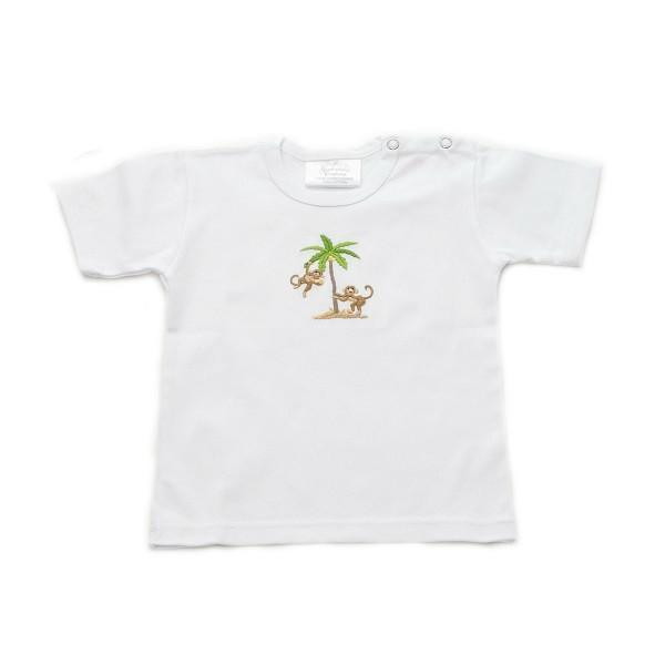 toddler t-shirt on safari 6-12 mths