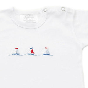 nautical t shirt 6 - 12 months