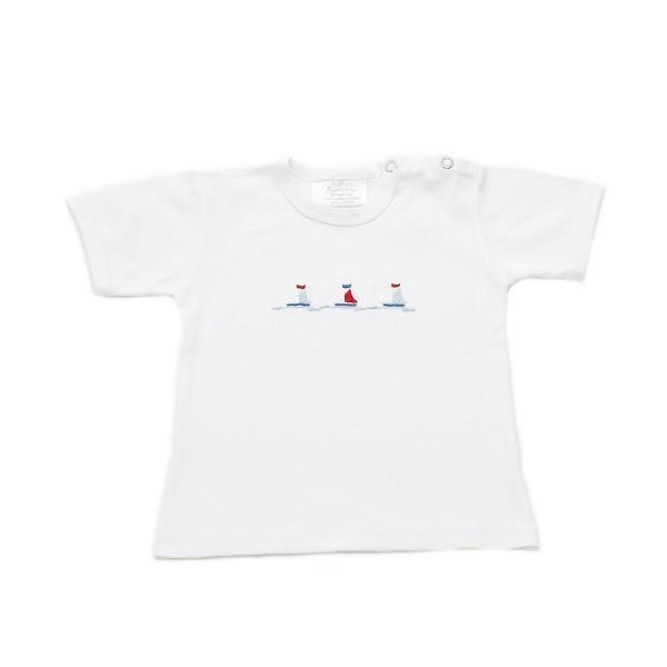 toddler t-shirt nautical 6-12 mths