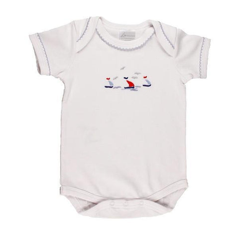 short body onesie sailing away