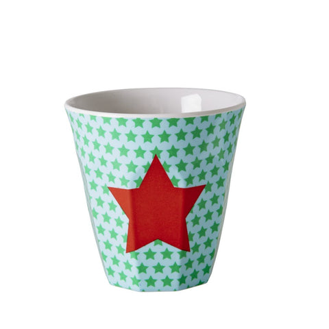 Kids Small Melamine Cup with Green Star
